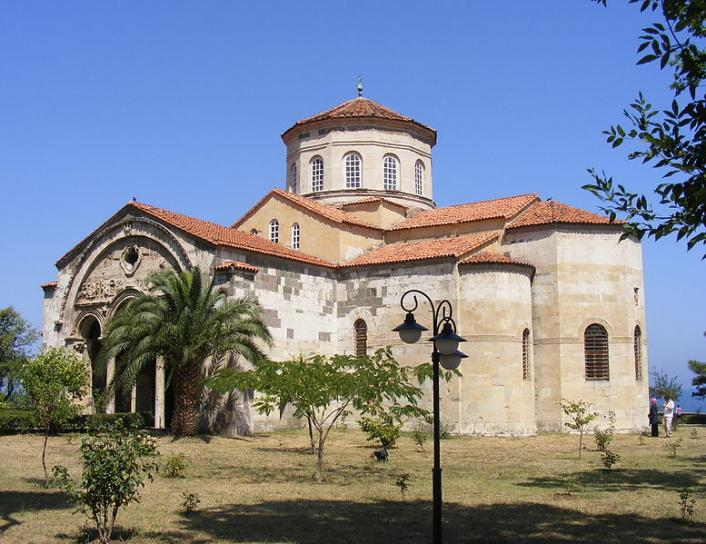 I never made it to Trebizond's Agia Sophia, at least not in time