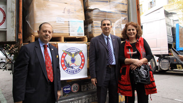 AHEPA Helps Secure Fifth Medical Supply Shipment for Greece