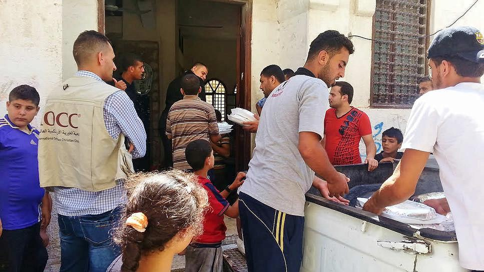 IOCC delivers relief to Gaza's displaced families