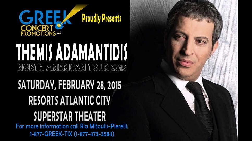 Warm Up the Winter with a hot night of Laika, Themis Adamantidis North American Tour