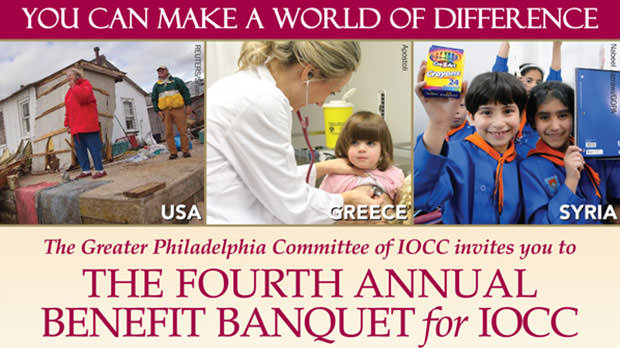 The Greater Philadelphia Committee of IOCC Fourth Annual Benefit Banquet