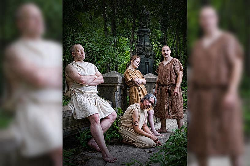 Commonwealth Classic Theatre Company Presents the World Premiere of RAGE OF ACHILLES by Paul Parente