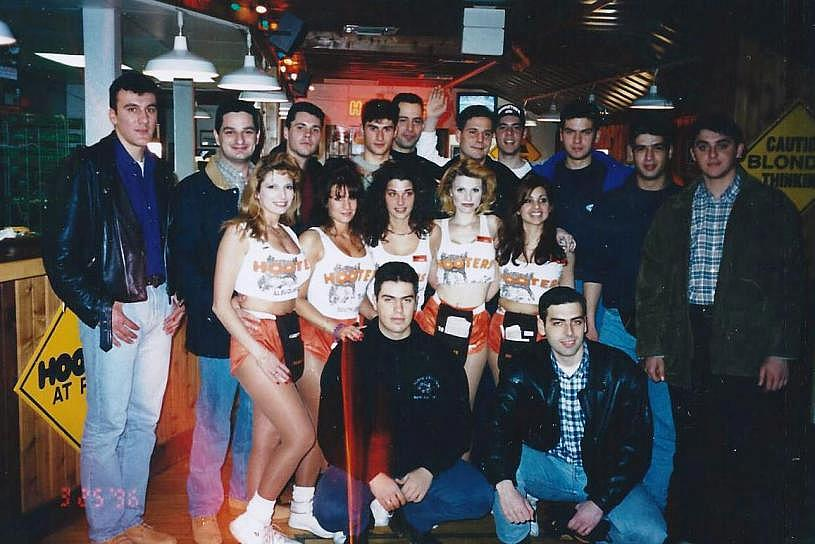 This Moment in Philadelphia Greek American History: Evzones and Hooters