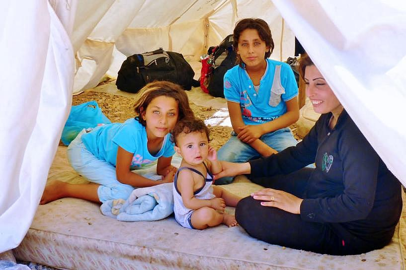 IOCC Relief Eases Hardship for Syrian Refugees and Greek Hosts