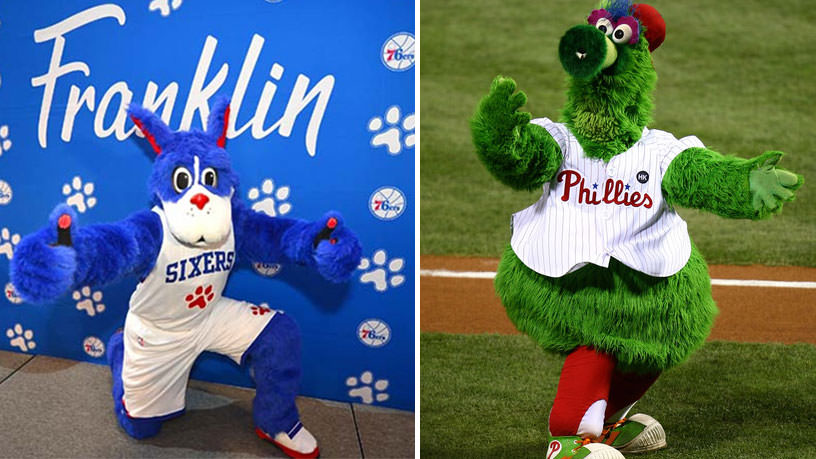 Philly Mascots, Franklin and Phanatic to Visit Upper Darby Greek Festival