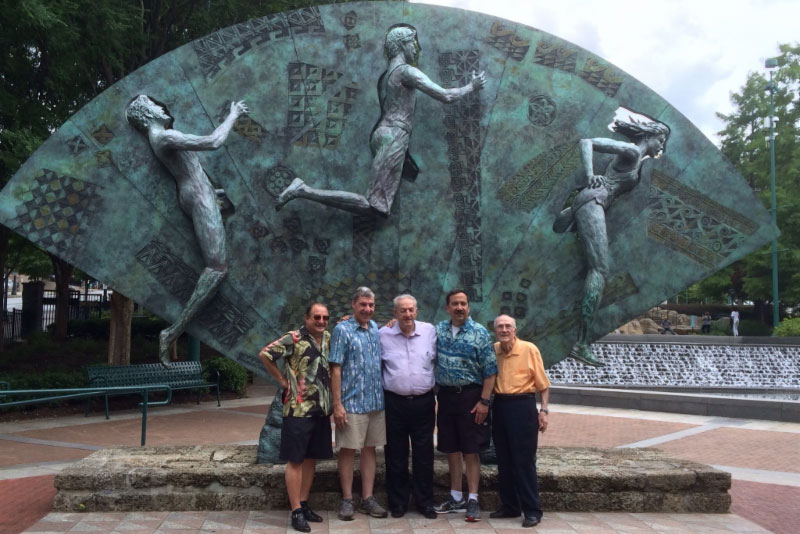 AHEPA Family Members Commemorate 20th Anniversary of Tribute Sculpture Dedication