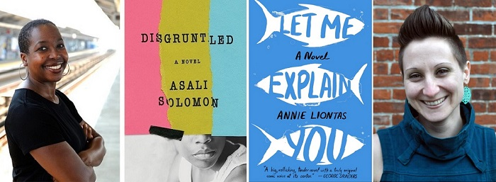 Book Reading Sessions with Asali Solomon and Annie Liontas