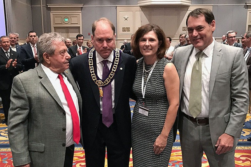 Carl Hollister Elected AHEPA Supreme President