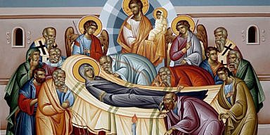 Dormition of the Theotokos Icon