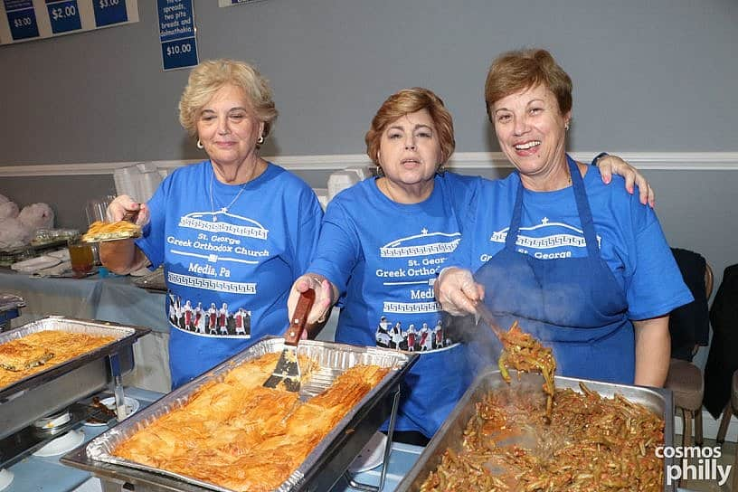 Homemade Greek Food at the St. George Greek Festival