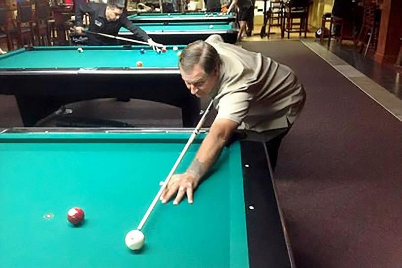 Rack 'Em Up – Jimmy Caras, The Greek Billiard Champion From Delco