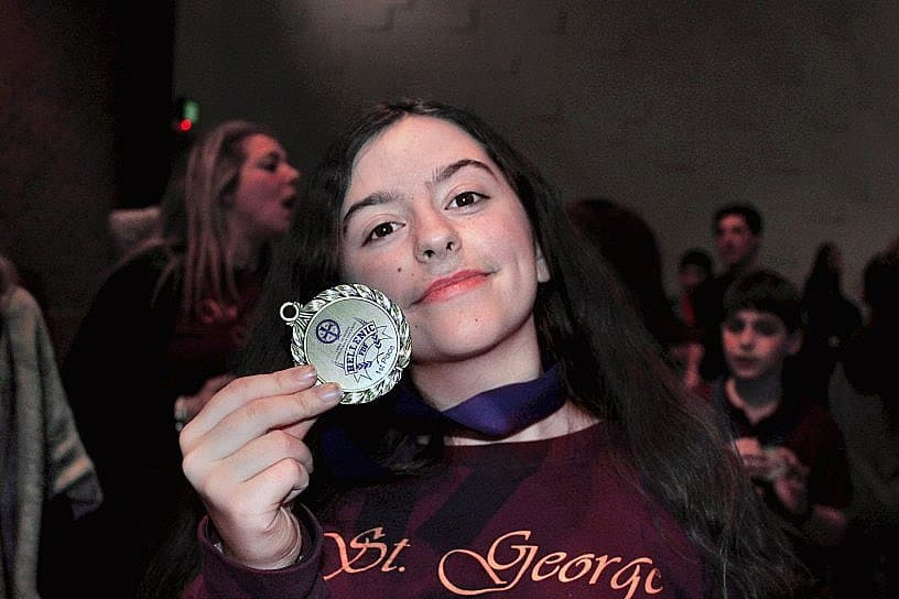 St. George of Media Takes First Place at 2019 Folk Dance Festival, Two Years in a Row