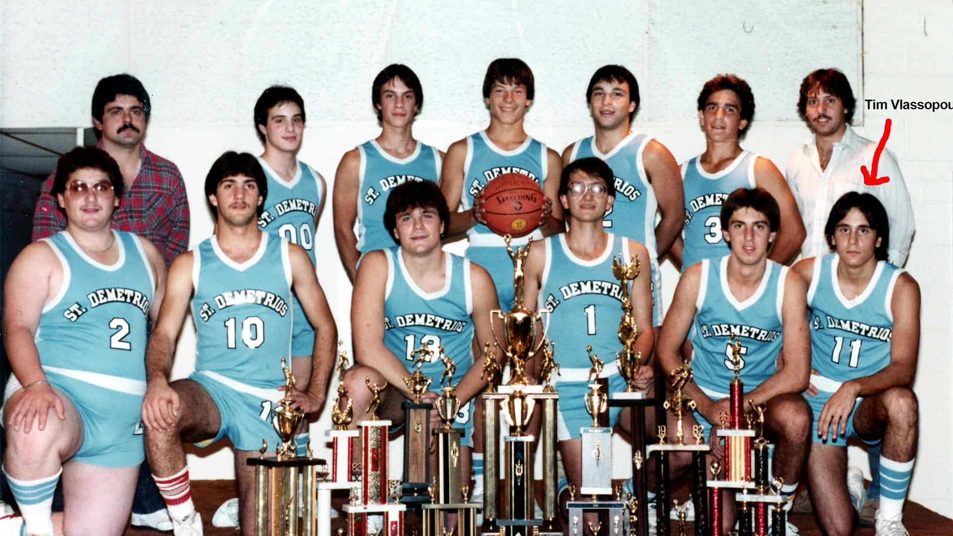 1983 GOYA National Basketball Champions, St. Demetrios of Upper Darby