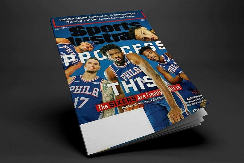 Sports Illustrated Magazine Highlights Sixers and Greek Freak