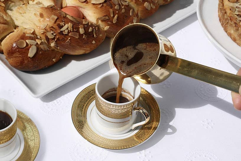 Coffee Grounds Divulge Future at St. Sophia Grecian Festival