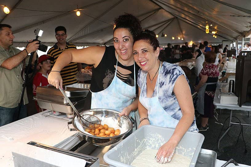 The St. George Cathedral Greek Festival, Loukoumades made with Love