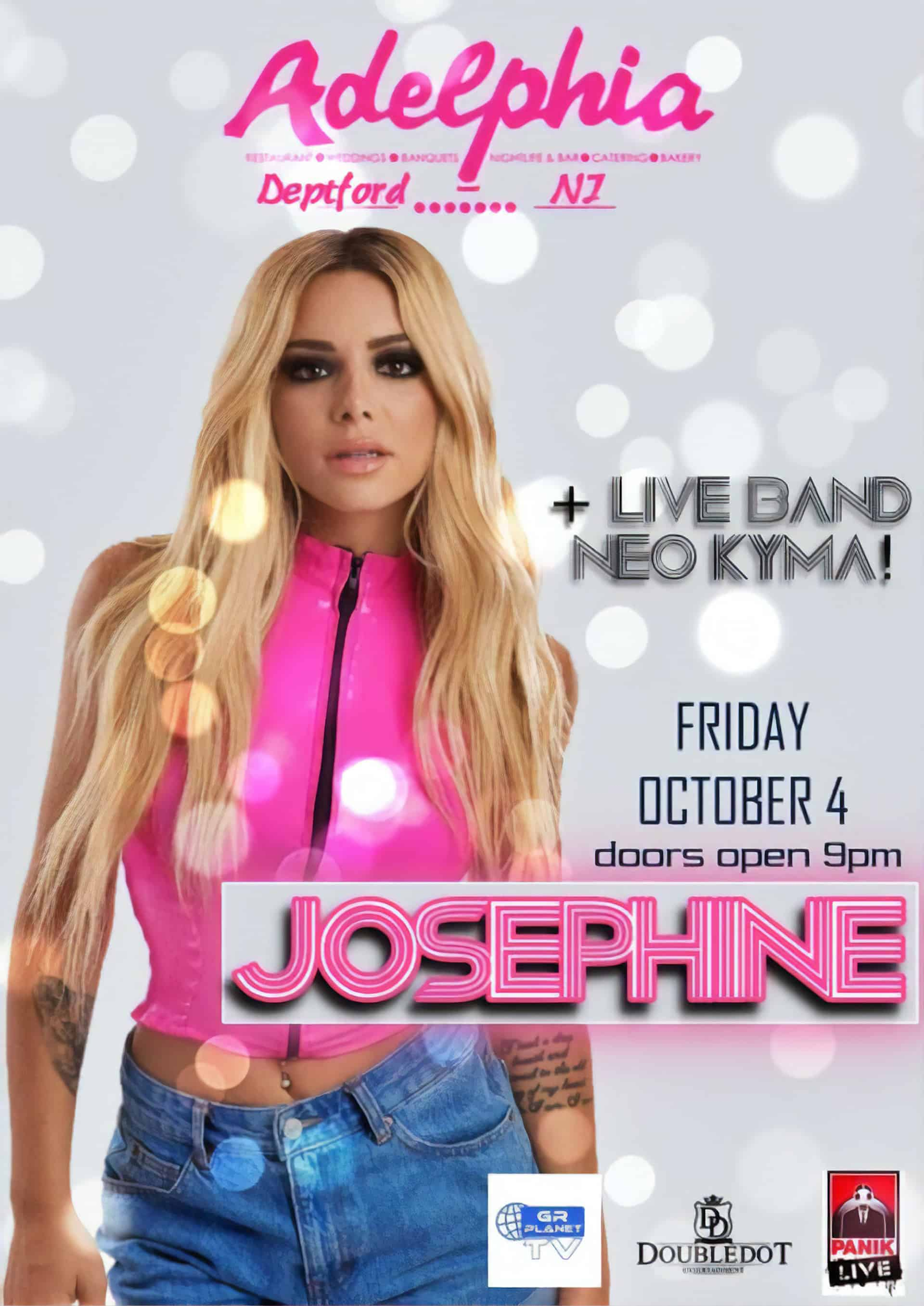 Josephine at Adelphia - Flyer