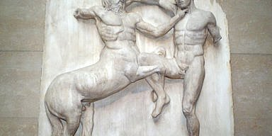 South 31 Metope, Parthenon