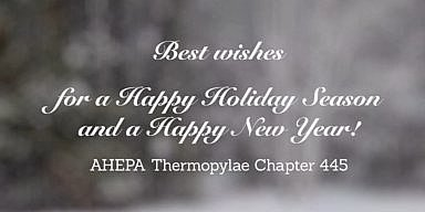 Season's Greetings from AHEPA Chapter 445