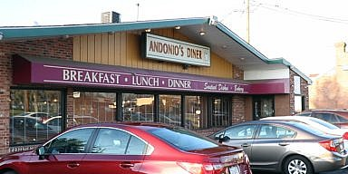 Season's Greetings from Andonio's Diner