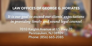 Season's Greetings George Horiates' Law Offices
