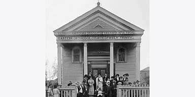 Holy Trinity Greek Orthodox Church in New Orleans, 1910