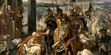 The Entry of the Crusaders in Constantinople, by Eugène Delacroix